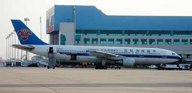 在北京飞往广州的南航cz3102班机上