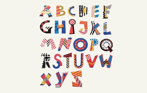 瑞士naef创意英文字母拼插拼图图片